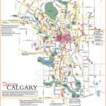 Large Calgary Maps for Free Download and Print