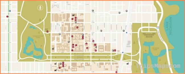 Maps & Locations | UChicago Arts | The University of Chicago