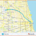BLUE LINE Route: Time Schedules, Stops & Maps