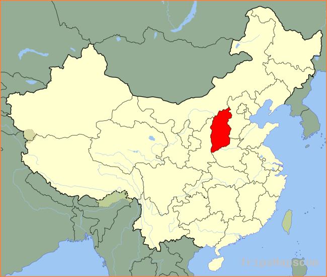China, Hong Kong, China map
