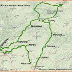 A lightweight bike cycling tour of China from Chongqing to Xian