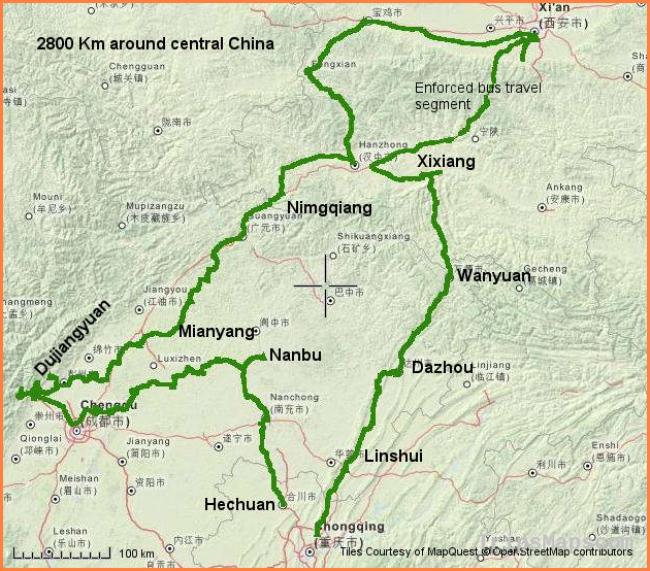 Map of Chongqing China - Where is Chongqing China? - Chongqing China Chongqing China Map on