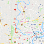 Chongqing, China, Shapingba District: Mapping Exercise