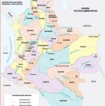 Colombia Maps | Printable Maps of Colombia for Download