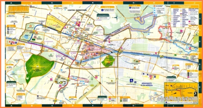 Map of Medellin Colombia - Where is Medellin Colombia?
