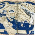 Columbus' Distorted Map of the World he used to Mistakenly Identify
