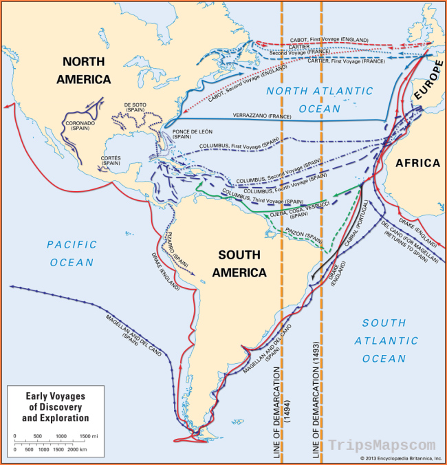 European exploration - The Age of Discovery