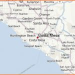 Map Reference. Map Of Costa Mesa California - Reference California Map