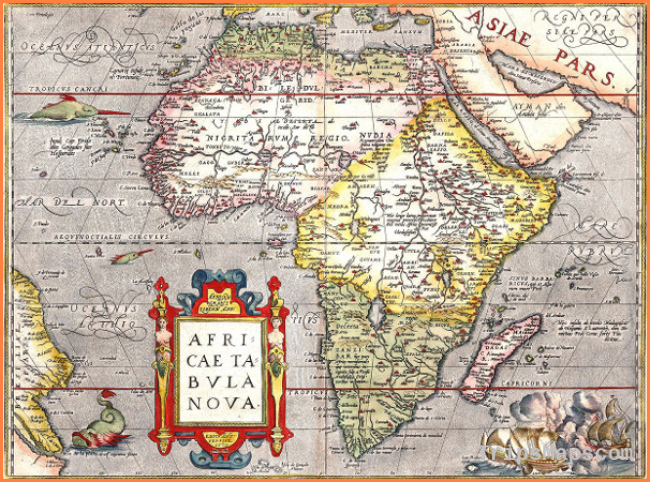 Africa Map / Map of Africa