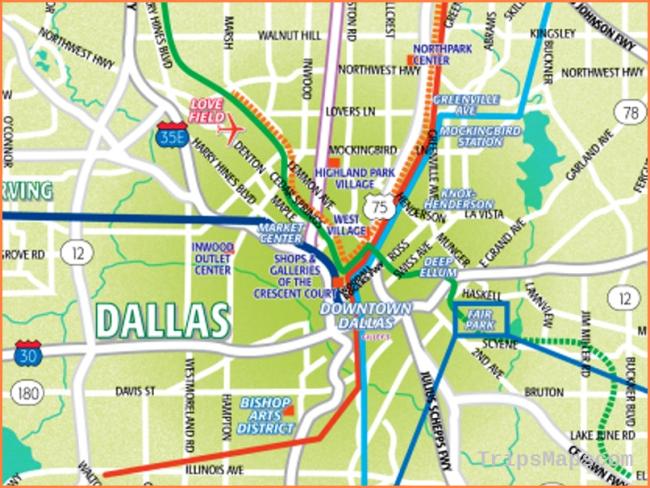 Download Dallas Area Maps