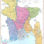 Maps of Bangladesh   Detailed map of Bangladesh in English