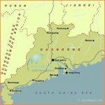 Guangdong Map, Guangdong Province Map