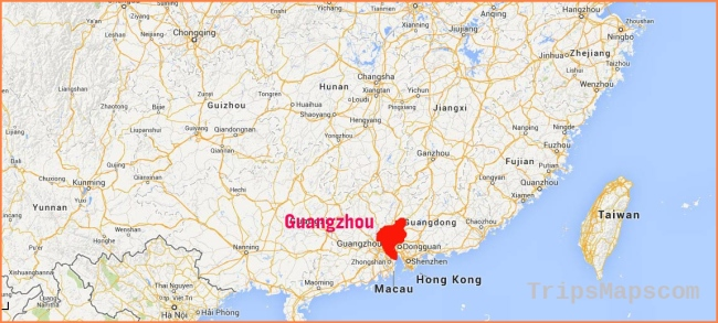 Guangzhou City Map, Canton Fair Map, Airport Map, Subway Map