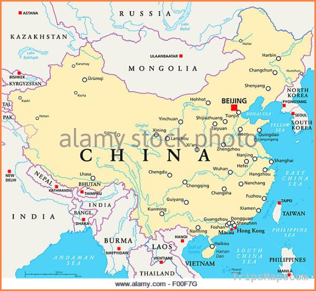 Beijing Map Stock Photos & Beijing Map Stock Images