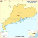 Where is Foshan Located, Location of Foshan in China Map