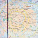 China Chengdu Map: Tourist Attractions, Hotels, Roads