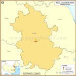 Where is Hefei Located, Location of Hefei in China Map