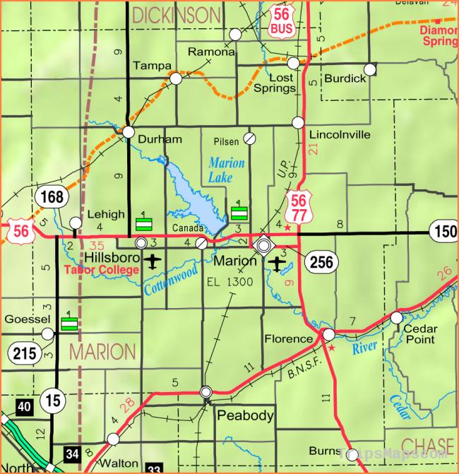Map of Hillsboro - Where is Hillsboro? - Hillsboro Map English ...