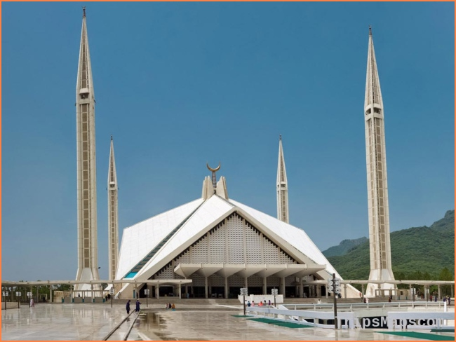 Faisal Mosque, Islamabad, Pakistan - Map, Facts, Architecture, History