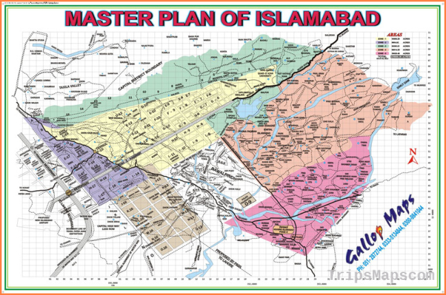 Islamabad Sector Maps - Time Value Enterprises