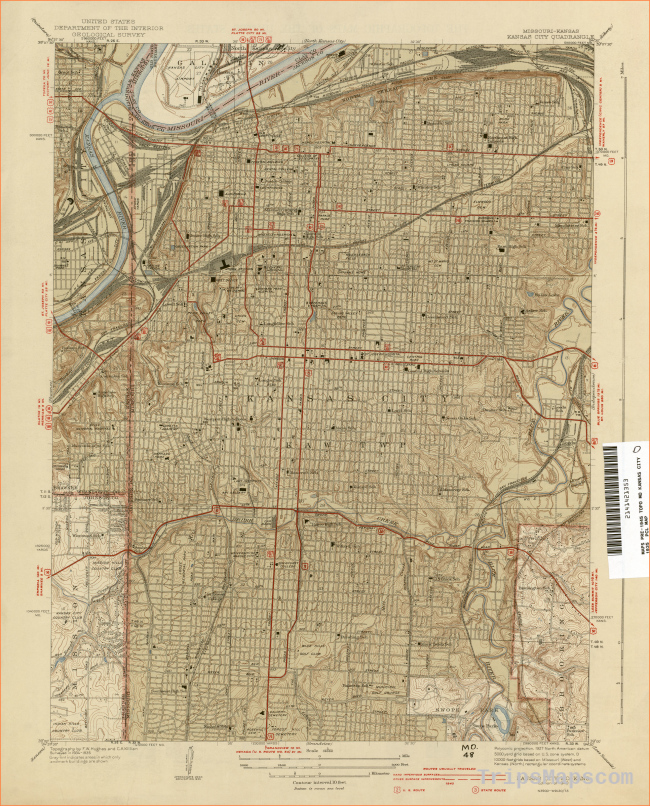 Kansas Historical Topographic Maps - Perry-Castañeda Map Collection