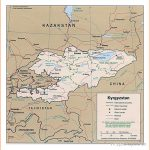 Maps of Kyrgyzstan | Detailed map of Kyrgyzstan in English