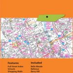 Folded Map: Nashville Street Map