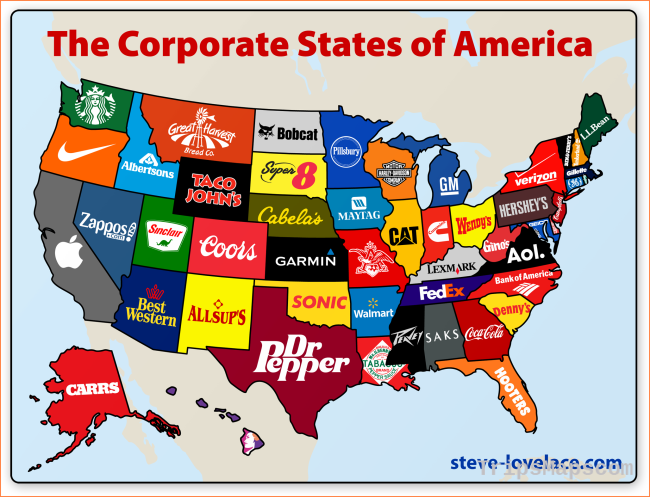 "Lakewood Resident Steve Lovelace Creates ""Corporate States of"