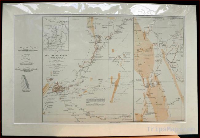 Map of Libya - Where is Libya? - Libya Map English - Libya
