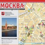 Official tourist maps of Moscow