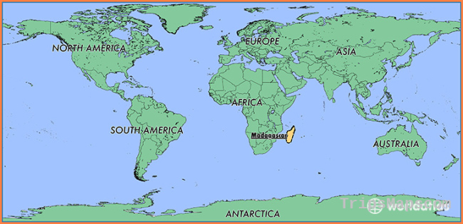 Where is Madagascar? / Where is Madagascar Located in The World