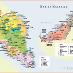 Malaysia map tourist - Tourism map of malaysia