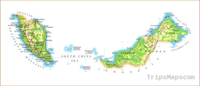 Malaysia Maps | Printable Maps of Malaysia for Download