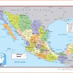 Map Of Mexico Detailed