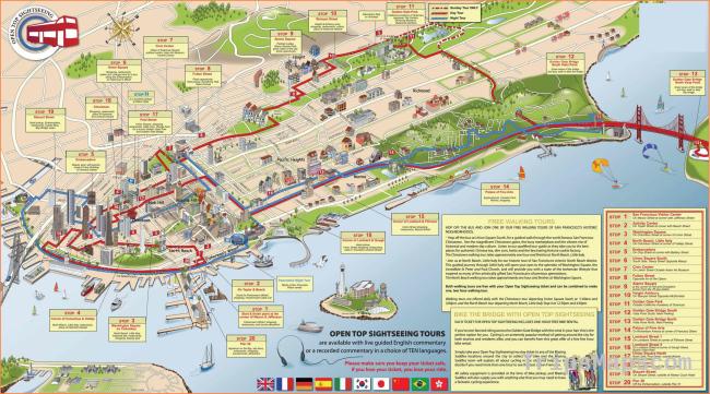 City maps. Stadskartor och turistkartor Thailand, USA