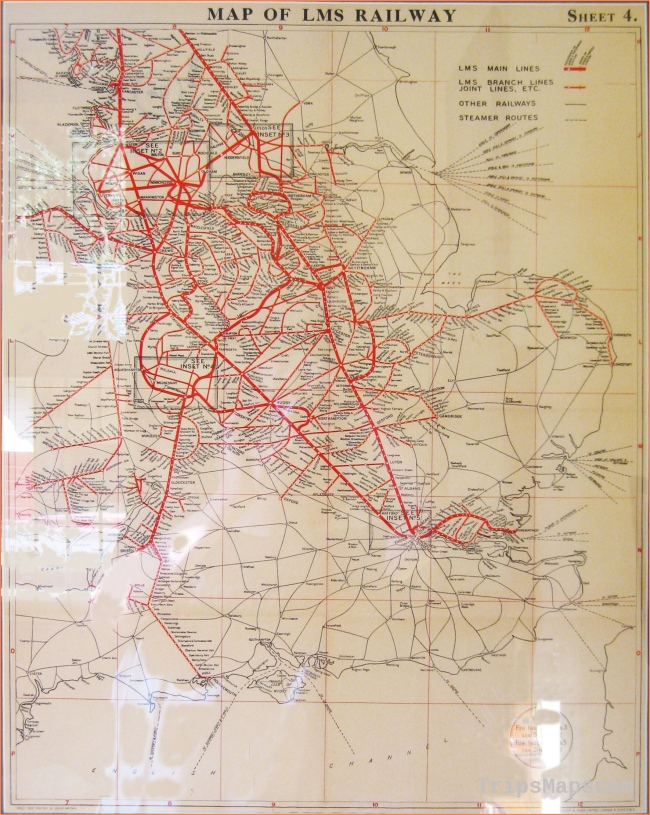 Pin by jo3lw on Maps | British rail, Map, Map of britain