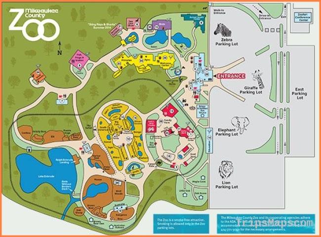 Zoo Map | Milwaukee County Zoo | Travel | Pinterest | Milwaukee