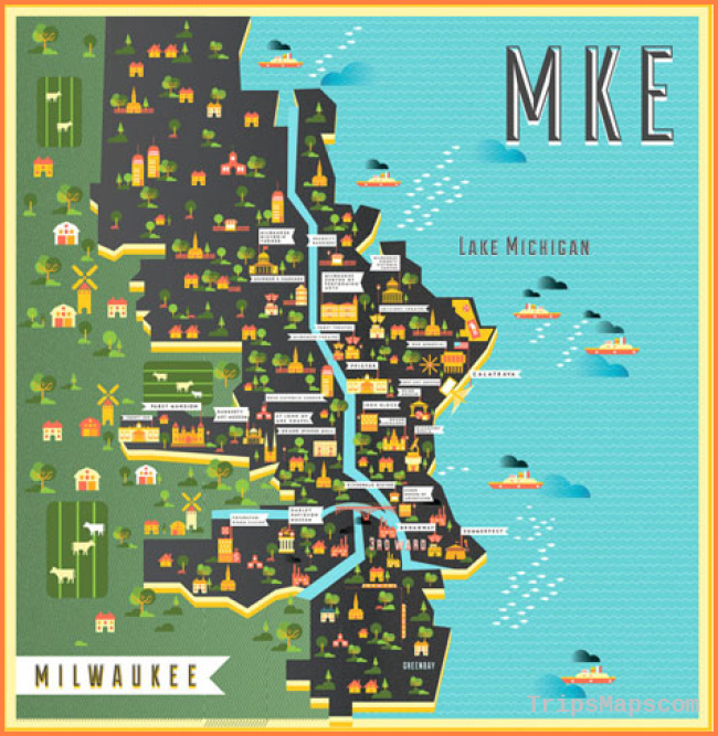Communication Design student places first in Mapping Milwaukee