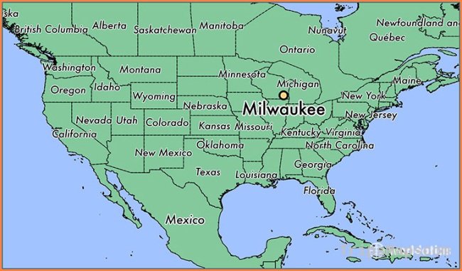 Where is Milwaukee, WI? / Milwaukee, Wisconsin Map