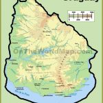 Uruguay Maps   Maps of Uruguay - OnTheWorldMap.com   Uruguay