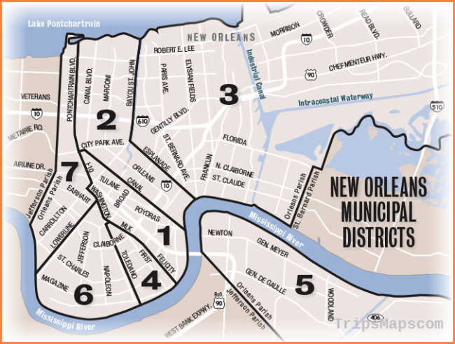 The turbulent history behind the seven New Orleans municipal