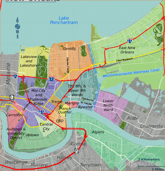 File:New Orleans districts map.svg