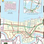Large New Orleans Maps for Free Download and Print