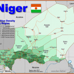 Niger Country data, links and maps of the population density by