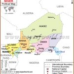 Niger Map | Map of Niger