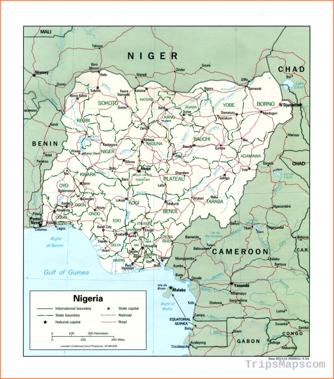 Map of Niger - Where is Niger? - Niger Map English - Niger Maps for ...