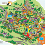 Oakland zoo map showing grade for guest with disabilities