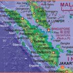 Map of Indonesia (Sumatra)