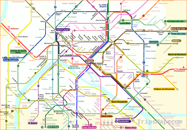 Map Of France In English.Map Of Paris France Where Is Paris France Paris France Map