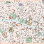 Paris maps - Top tourist attractions - Free, printable